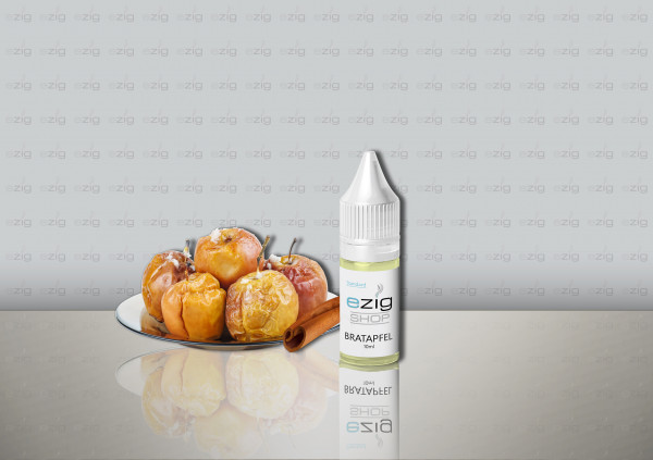 Brat-Apfel Liquid 10ml - 30ml (0-18mg Nikotin/ml)