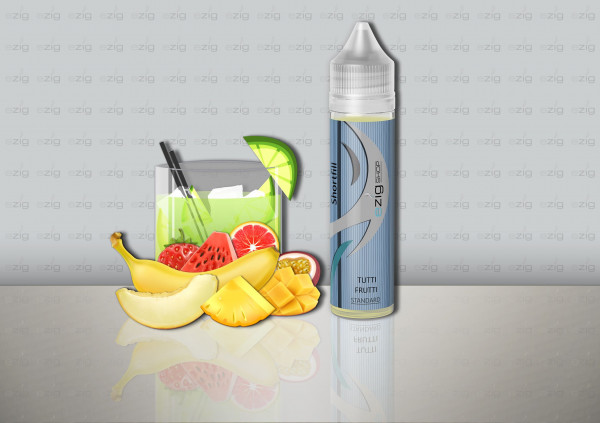 Tutti Frutti Shake ´n Vape (0-6 Nikotin/ml)