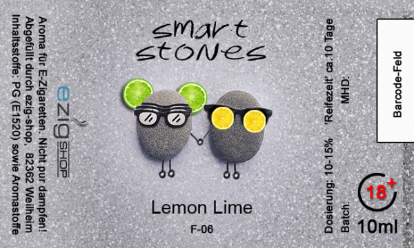 """SMART STONE"" Lemon Lime Aroma 10ml"