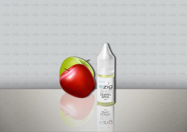 Doppel-Apfel Liquid 10ml - 30ml (0-18mg Nikotin/ml)