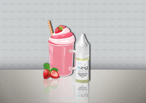 Erdbeertraum Liquid 10ml - 30ml (0-18mg Nikotin/ml)