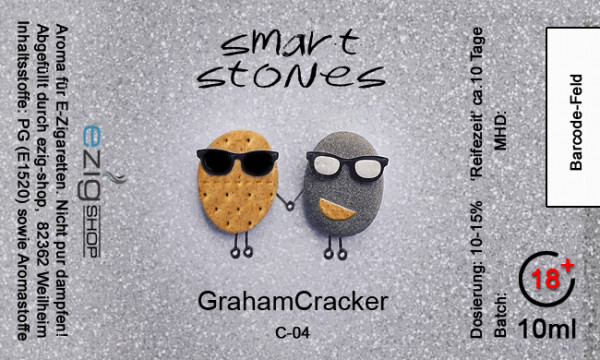 """SMART STONE"" Graham Cracker Aroma 10ml"