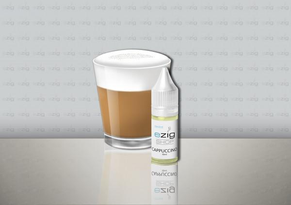 Cappuccino Liquid 10ml - 30ml (0-18mg Nikotin/ml)