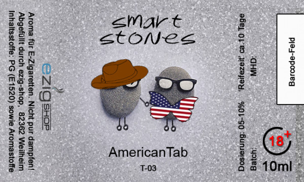 """SMART STONE"" AmericanTab Aroma 10ml"
