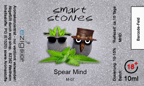"""SMART STONE"" Spear MInd Aroma 10ml"