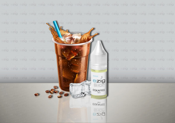 Eiskaffee Liquid 10ml - 30ml (0-18mg Nikotin/ml)