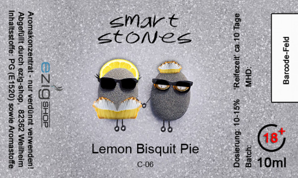 """SMART STONE"" Lemon Bisquit Pie Aroma 10ml"