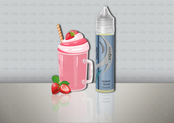 Erdbeertraum Shake ´n Vape (0-6 Nikotin/ml)