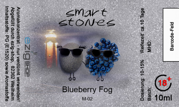 """SMART STONE"" Blueberry Fog Aroma 10ml"
