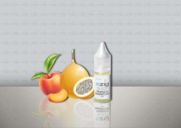 Pfirsich Maracuja Liquid 10ml - 30ml (0-18mg Nikotin/ml)