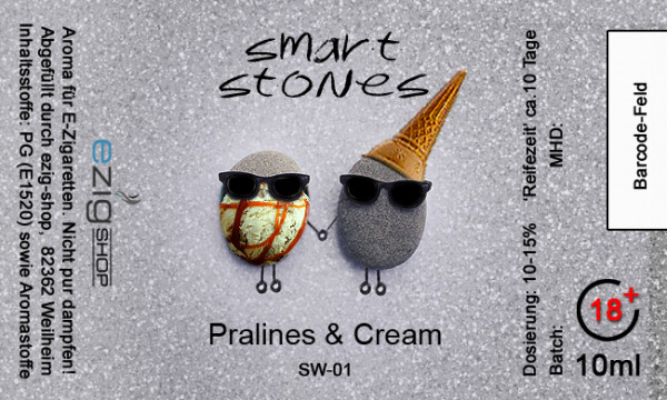"""SMART STONE"" Pralines & Cream Aroma 10ml"