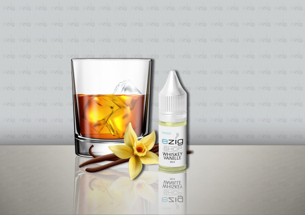 Whiskey Vanille 10ml - 30ml (0-18mg Nikotin/ml)