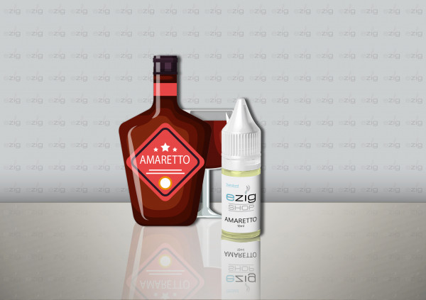 Amaretto Liquid 10ml - 30ml (0-18mg Nikotin/ml)