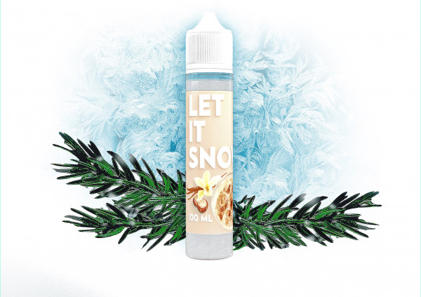 """Let it Snow"" Weihnachts Shake and Vape 50ml (0mg Nikotin/ml)"