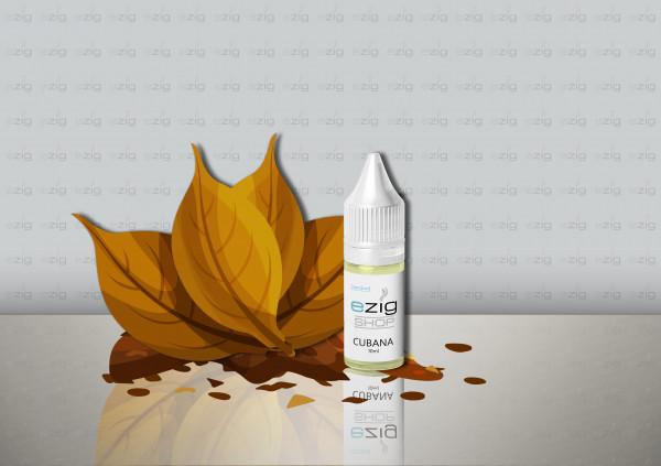 Cubana Liquid 10ml - 30ml (0-18mg Nikotin/ml)