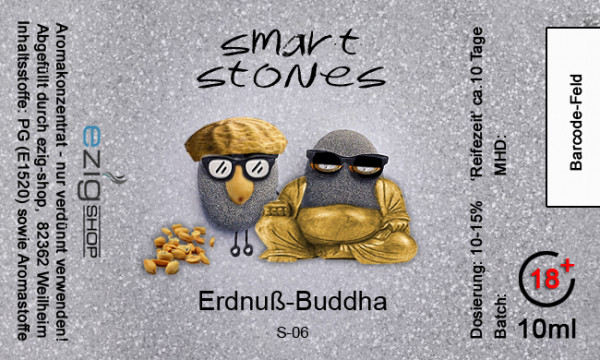 """SMART STONE"" Erdnuss Buddah Aroma 10ml"