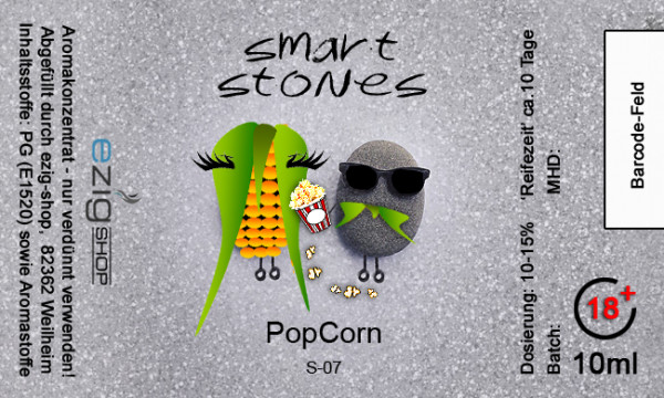 """SMART STONE"" Popcorn Aroma 10ml"