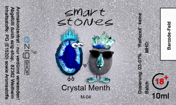 """SMART STONE"" Crystal Menth Aroma 10ml"
