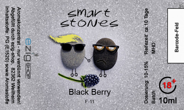 """SMART STONE"" Black Berry Aroma 10ml"