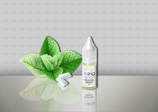 Pfefferminze Liquid 10ml - 30ml (0-18mg Nikotin/ml)