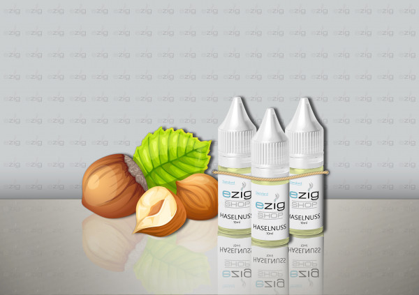 Haselnuss Liquid 10ml - 30ml (0-18mg Nikotin/ml)