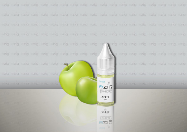 Apfel Liquid 10ml - 30ml (0-18mg Nikotin/ml)