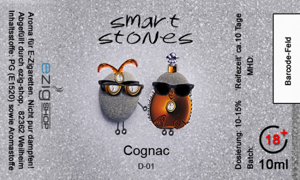 """SMART STONE"" Cognac Aroma 10ml"
