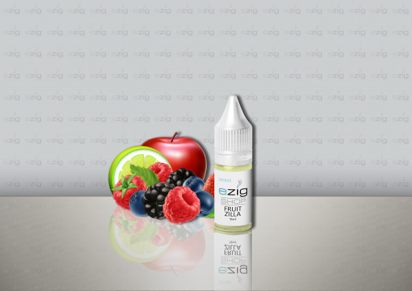 Fruitzilla Liquid 10ml - 30ml (0-18mg Nikotin/ml)
