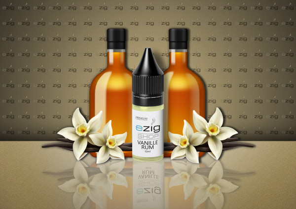 Vanilla Rum 10ml - 30ml (0-18mg Nikotin/ml)