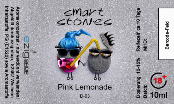 """SMART STONE"" Pink Lemonade Aroma 10ml"